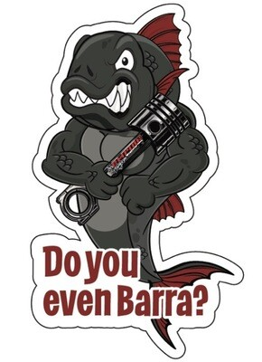 Empire Elite (do You Even Barra ) Sticker