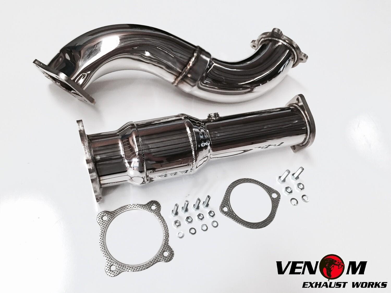 FG Stainless-Steel VENOM Dump/Cat - Ford BARRA T