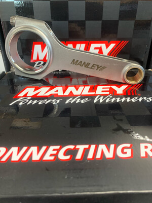 MANLEY FORGED BARRA H-BEAM CON RODS