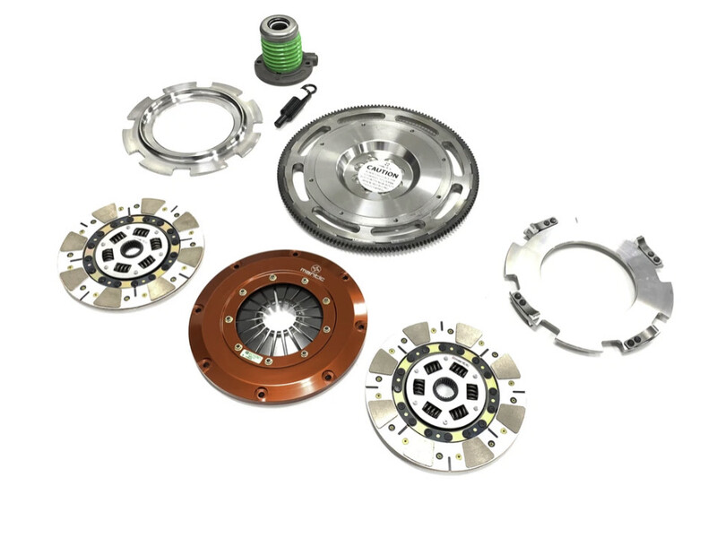 FORD FALCON XR6T 6 SPEED MANTIC TRACK TWIN CERAMIC CUSHIONED SPRUNG CLUTCH KIT