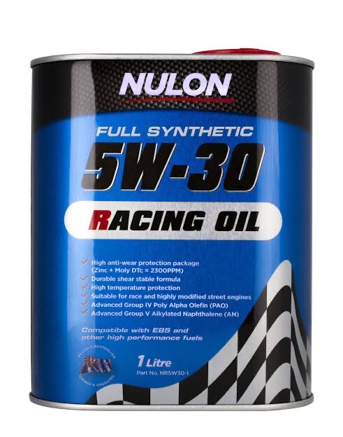 NULON RACING OIL 5W-30 1 LITRE