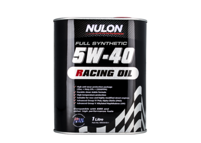NULON RACING 5W-40 OIL 1 LITRE