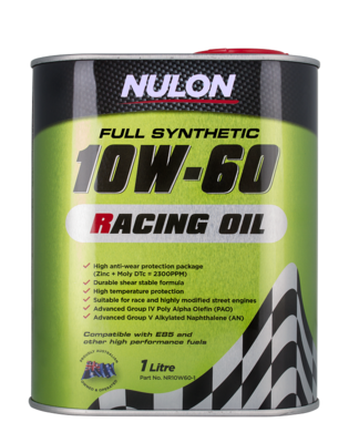 NULON RACING OIL 10W-60 1 LITRE