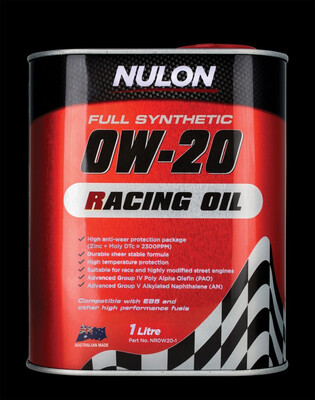 NULON RACING OIL 0W-20 1 LITRE