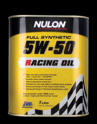 NULON RACING OIL 5W-50 1 LITRE