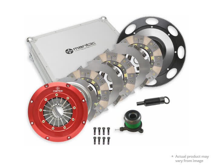FORD FALCON , MUSTANG COYOTE TRIPLE CERAMIC CUSHIONED SPRUNG CLUTCH KIT
