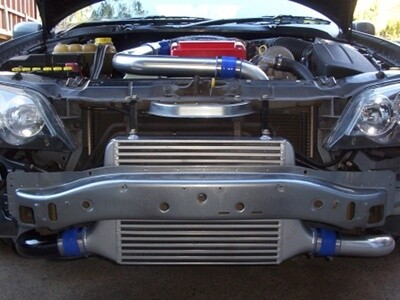 PLATE 650HP CROSSOVER INTERCOOLER KIT