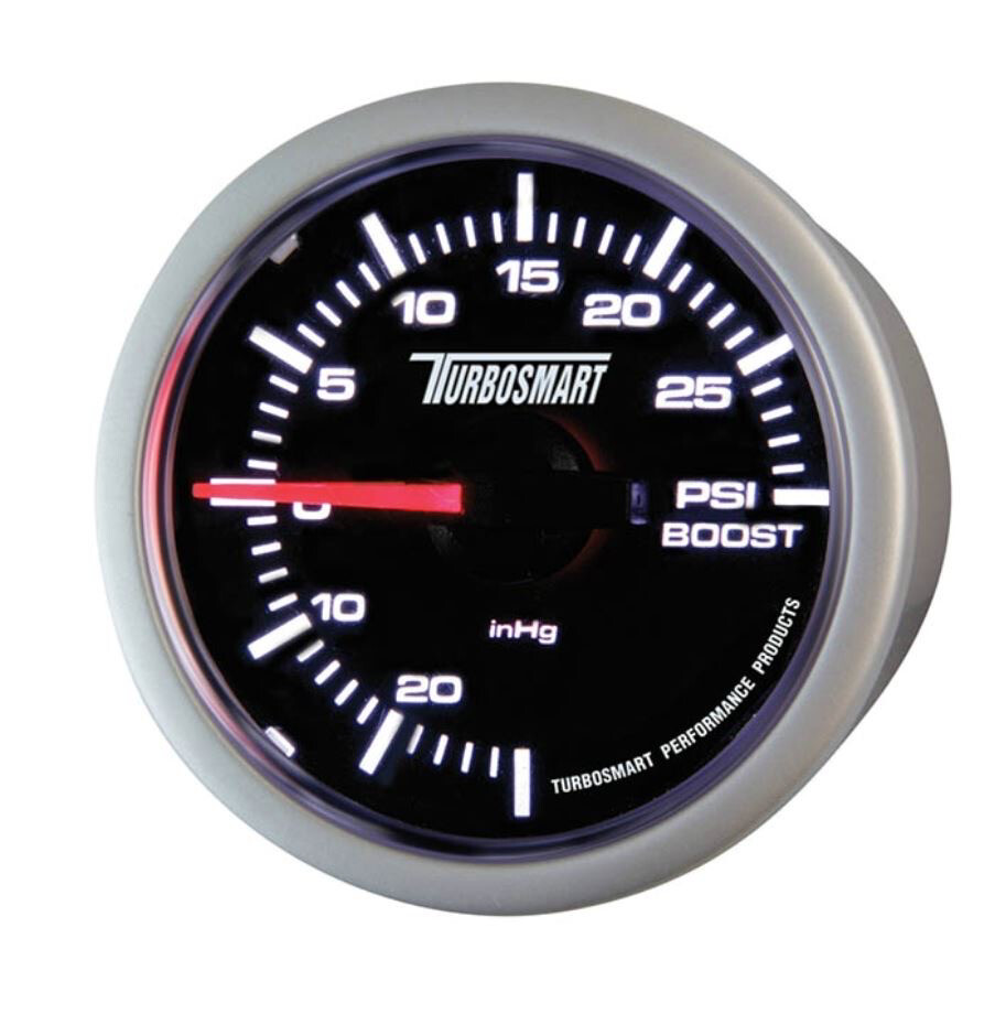 TURBOSMART BOOST GAUGE 52MM 0-30PSI