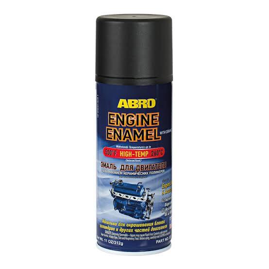 ABRO ENGINE CERAMIC ENAMEL (BLK)
