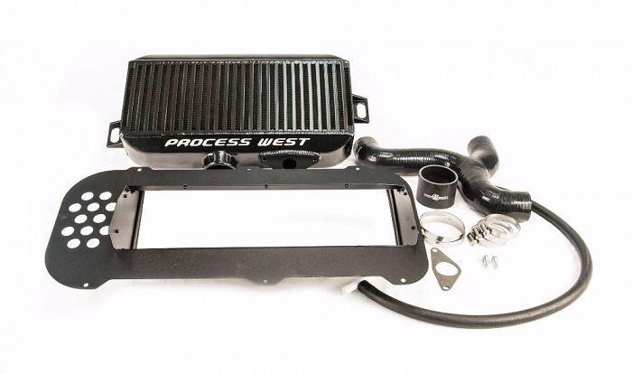 Top Mount Intercooler Kit (suits Subaru 04-07 Forester XT) - Black