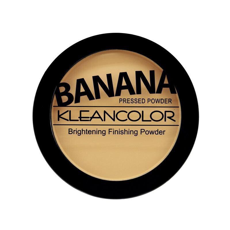 Banana Pressed Powder-Brightening Finishing Powder