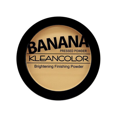 Banana Pressed Powder-Brightening Finishing Powder