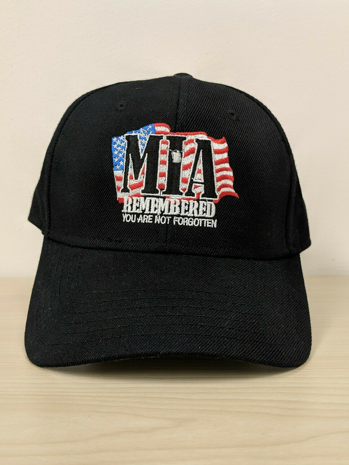 MIA Remembered Embroidered Hat