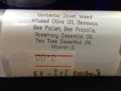 Jewel Weed Herbal Salve