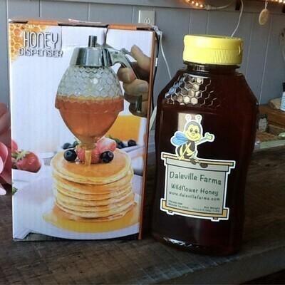 AA Dispenser W/1 Lb Honey