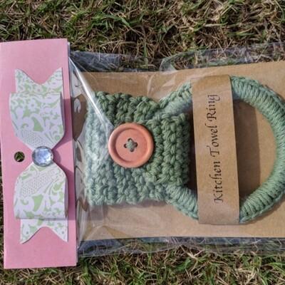 Crochet Towel Ring