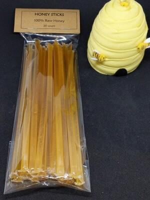 Honey Straws - Pack of 20
