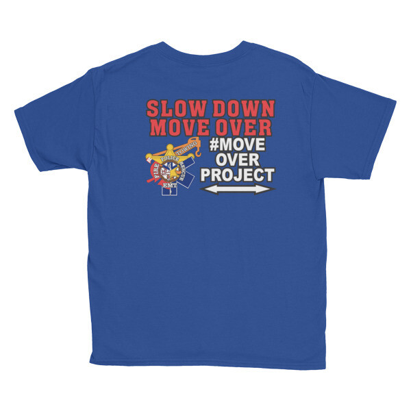Youth Short Sleeve #MOVEOVERPROJECT T-Shirt