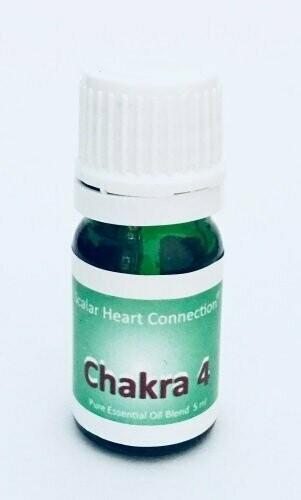 Mistura de óleo essencial do Chakra do Coração ou Ar (4 ml)