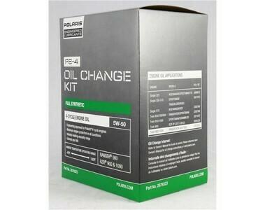PS-4 OIL CHANGE KIT 2.5 QTS.