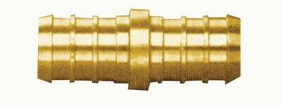 3/8   EQUAL BRASS COUPLING