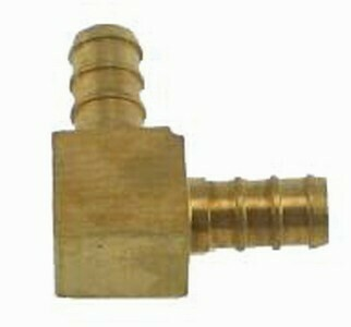 3/8   EQUAL BRASS ELBOW