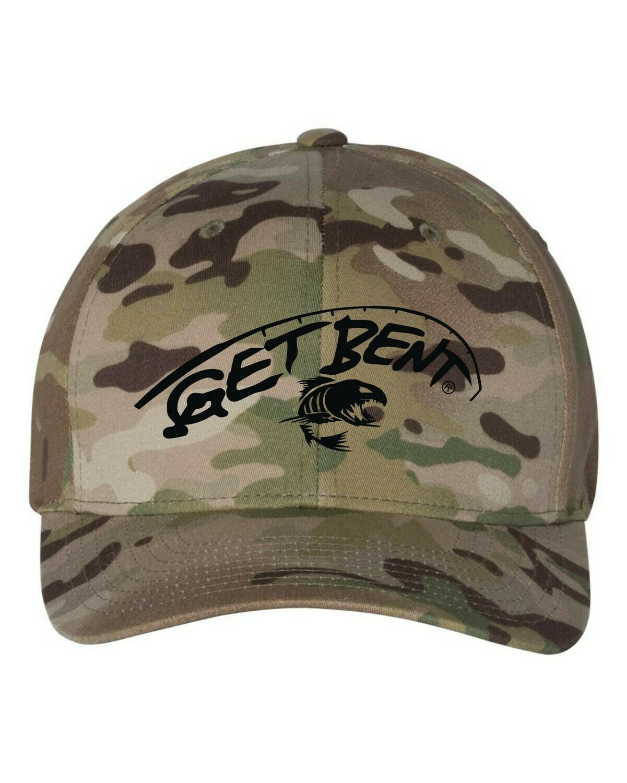 'Get Bent' - Flex Fit Hat - Camo
