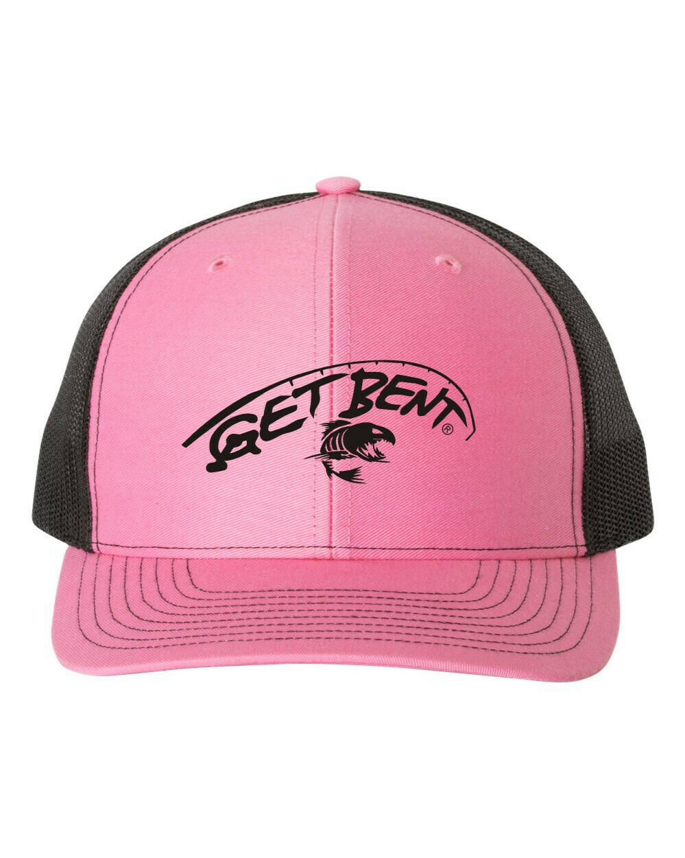 'Get Bent' - Richardson Trucker - Pink/Black
