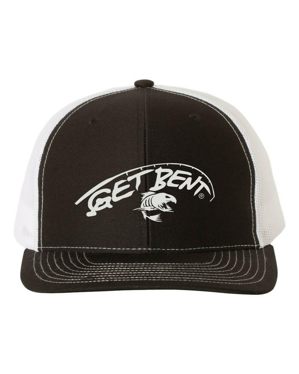 'Get Bent' - Richardson Trucker - Black/White