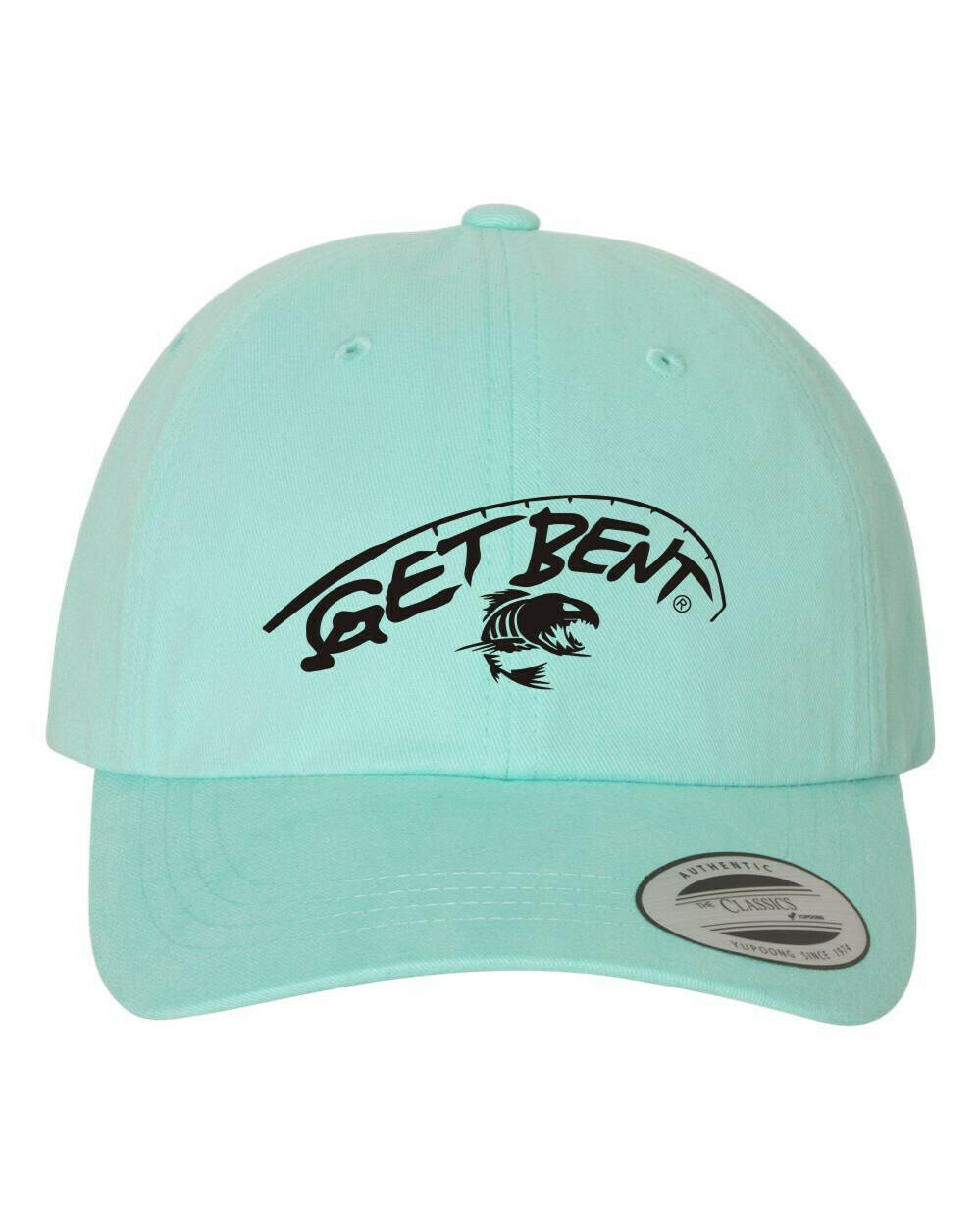 'Get Bent' - Dad Hats - Diamond Blue/Black