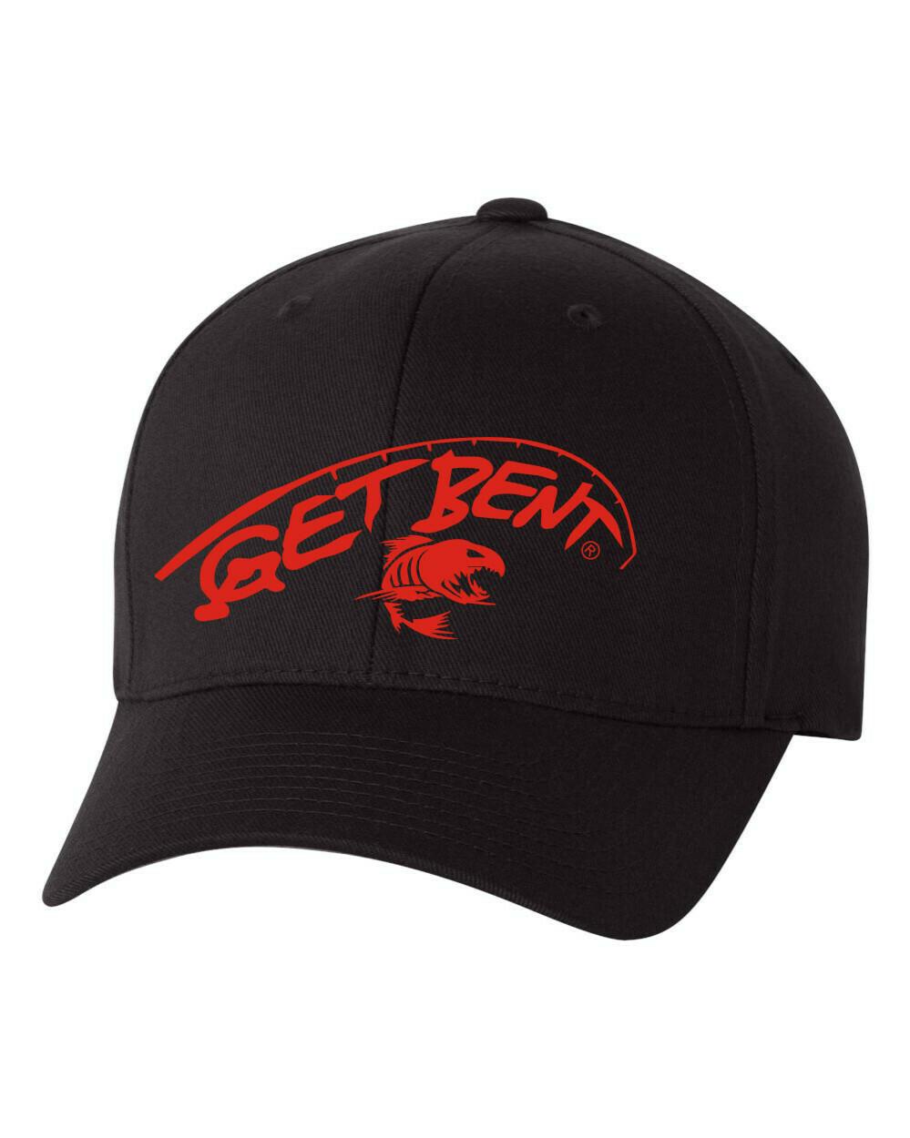 'Get Bent' - Flex Fit Hat - Black