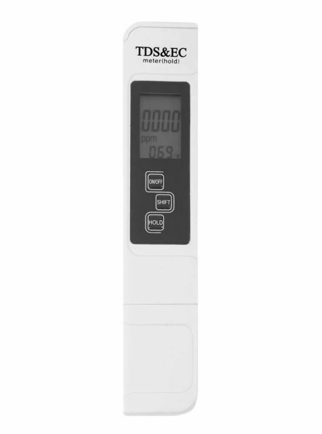 3 In 1 Multifunction TDS EC PPM Water Quality Meter Test Pen with LCD Display
