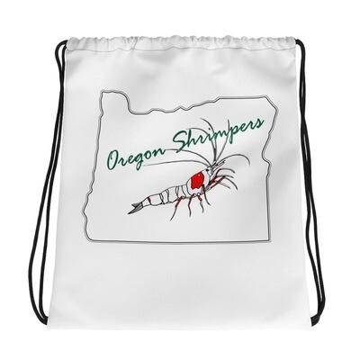 Oregon Shrimpers Drawstring Carry Bag