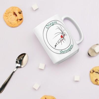 Oregon Shrimpers Medallion 15 oz. Mug