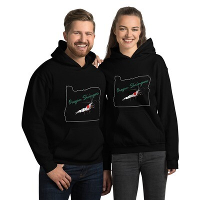 Oregon Shrimpers Heavy Blend Hoodie - Additional Colors Available