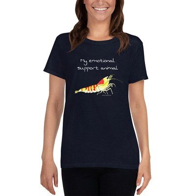 My Emotional Support Shrimp - Womens Scoop Neck - SEHR