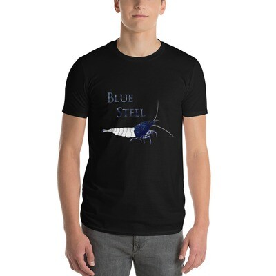 Blue Steel Shrimp T-Shirt - SERHSB