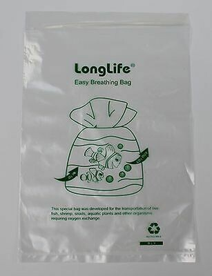 (25) Long Life breather bags 6x9 curved seal