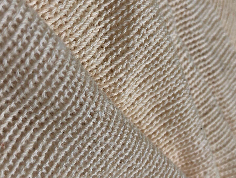 Hand Knitting Cotton Fabric