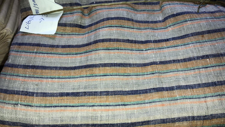 Linen Fabric Hand Spun Hand Woven