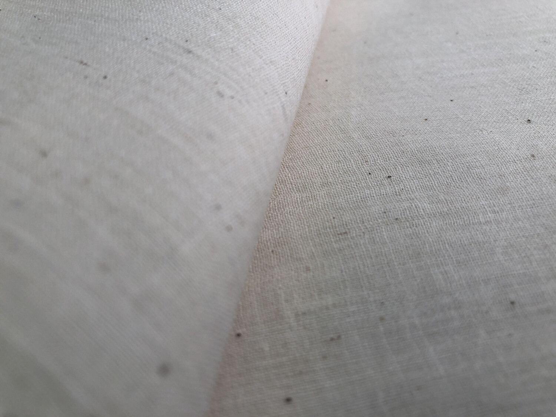 Hand Spun Hand Woven 150 Count Muslin Cotton  Fabric