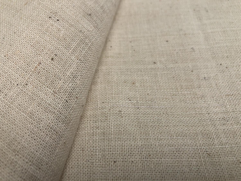 Hand Spun Hand Woven 33 Count Cotton  Fabric