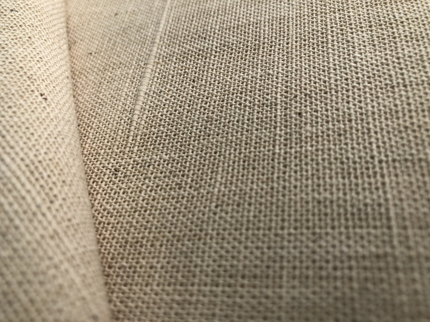 Hand Spun Hand Woven 20 Count Cotton  Fabric