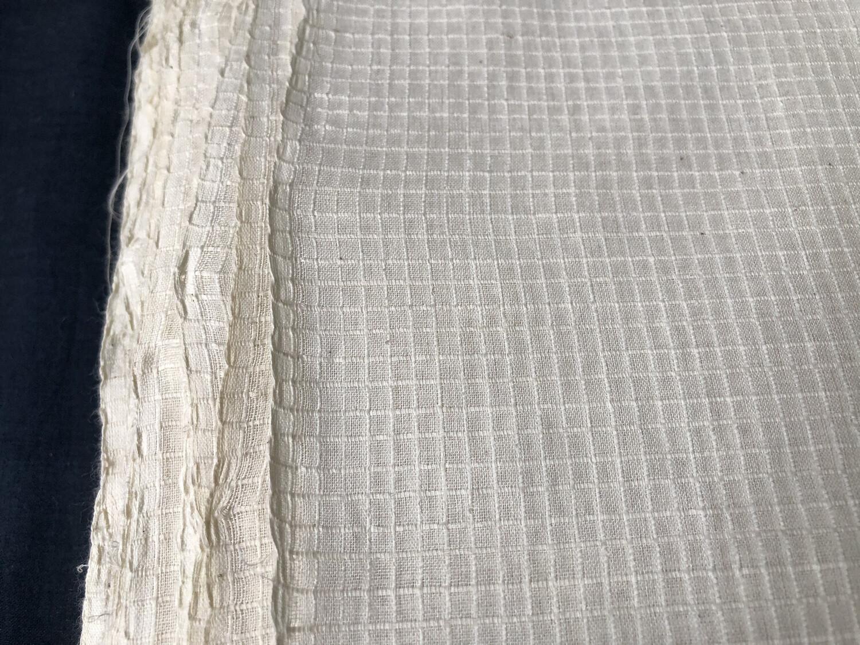 Hand Spun Hand Woven 200 Count Muslin Cotton   Fabric