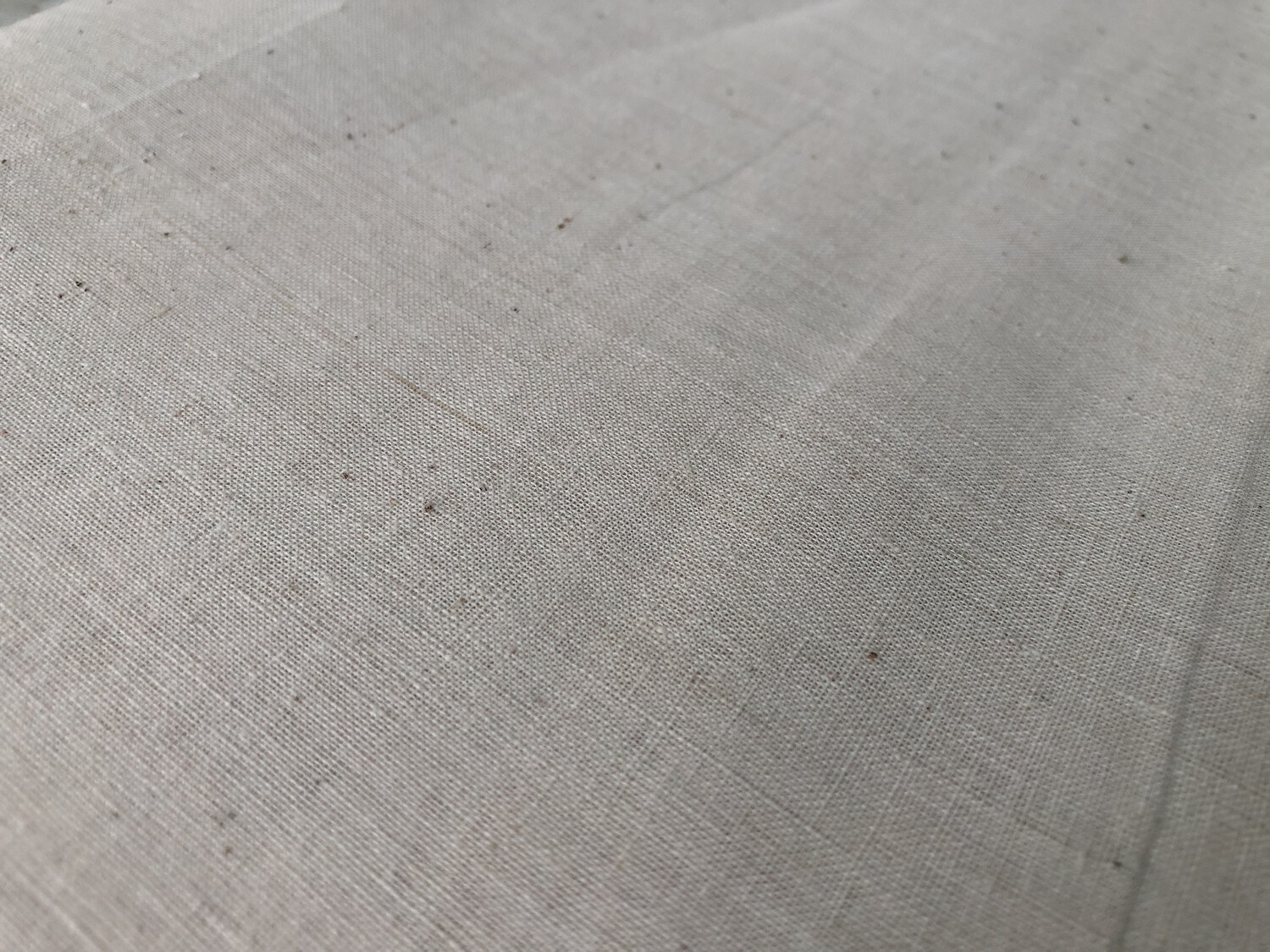 Hand Spun Hand Woven  Count Fabric 60  Count