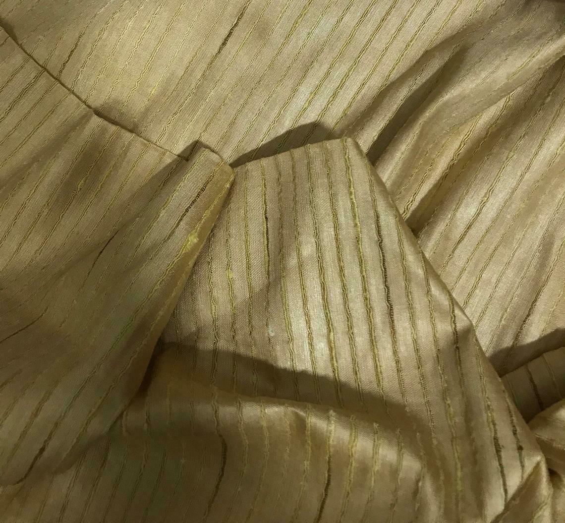 Desi Tussar Silk Fabric