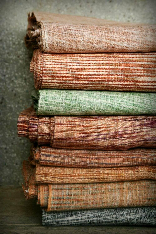 Hand Spun Handwoven Cotton Fabric