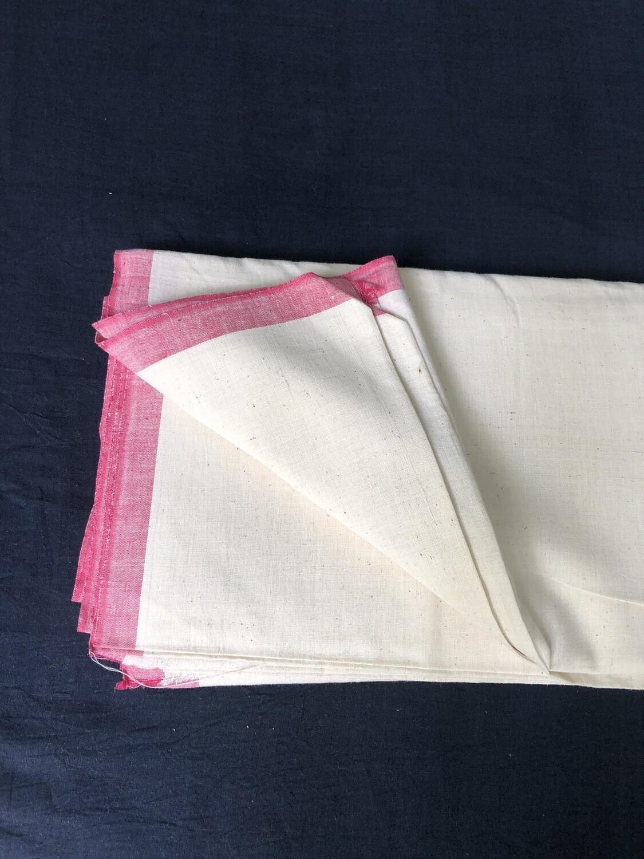 Hand Spun Hand Woven Muslin 100 Count Fabric