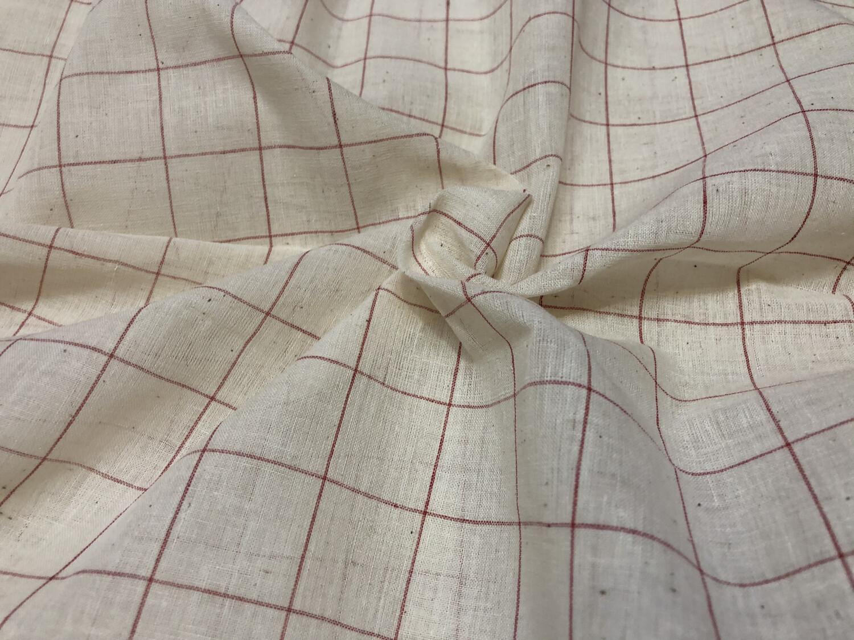 Hand Spun Hand Woven Muslin  Cotton Fabric