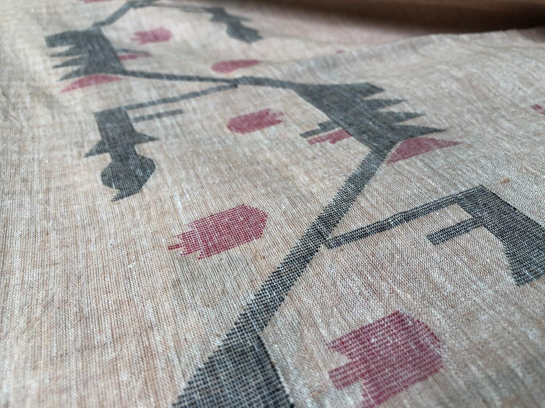 Hand Woven Jamdani Cotton Fabric